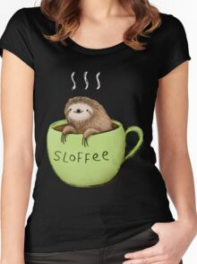 Sloffee Women's Fitted Scoop T-Shirt