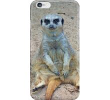 Sitting & Watching iPhone Case/Skin