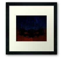 Pine Forest Coloured Framed Print