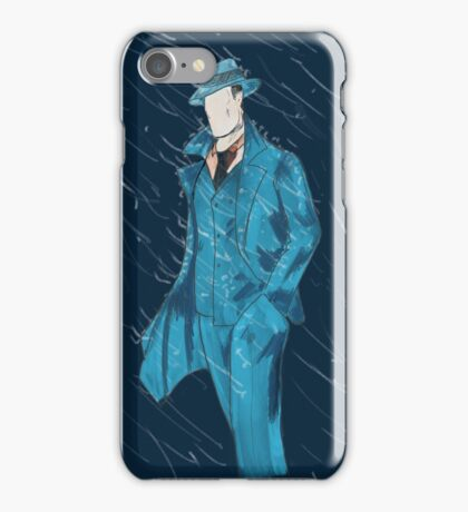The Question Caught in the Rain iPhone Case/Skin