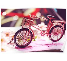 Miniature Bicycle Poster