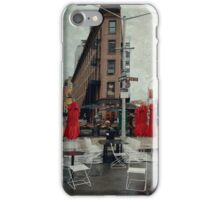 ... and then, came the rain iPhone Case/Skin