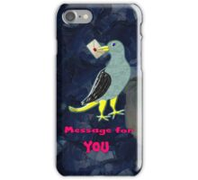 Pigeon Has a Message for You iPhone case iPhone Case/Skin
