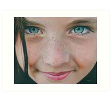 Freckle Face Art Print