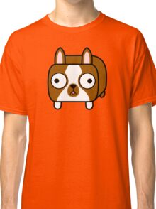Boston Terrier Loaf - Red Brown Boston Dog Classic T-Shirt