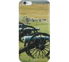 Cannons @ Rest iPhone Case/Skin
