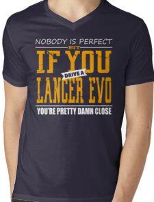 Mitsubishi Lancer Evo Mens V-Neck T-Shirt