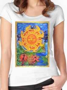 Sun of Pacifica Women's Fitted Scoop T-Shirt