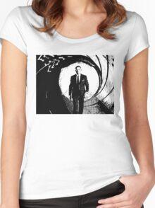 007 - Daniel Craig Women's Fitted Scoop T-Shirt