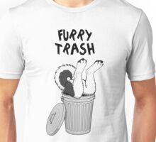 Furry Trash - Black Husky/Malamute Unisex T-Shirt