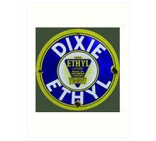 Dixie Ethyl Pump Plate Art Print