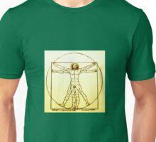 Vitruvian Man Mono Unisex T-Shirt