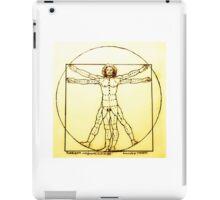Vitruvian Man Mono iPad Case/Skin