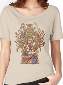 Throne of Magic - Sailor Moon Women's Relaxed Fit T-Shirt