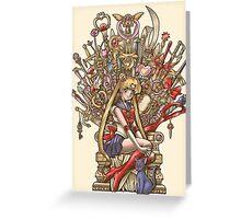 Throne of Magic - Sailor Moon Greeting Card