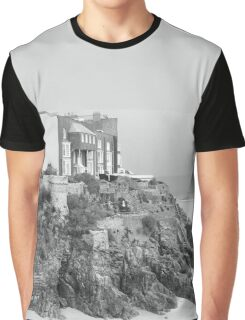 Seaside in Wales Graphic T-Shirt