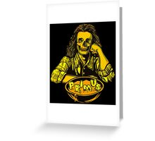 Primus - Skull Soup Greeting Card