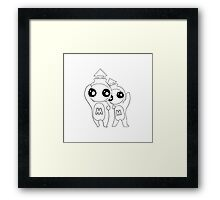 Characters - Aliens Framed Print