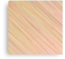 Pink Colorful Grunge Diagonal Line Pattern Canvas Print