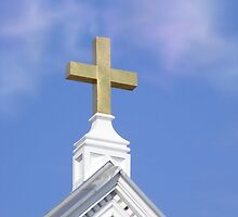 The Cross ~ A Powerful and Simple Reminder of Christ's Love by Marie Sharp
