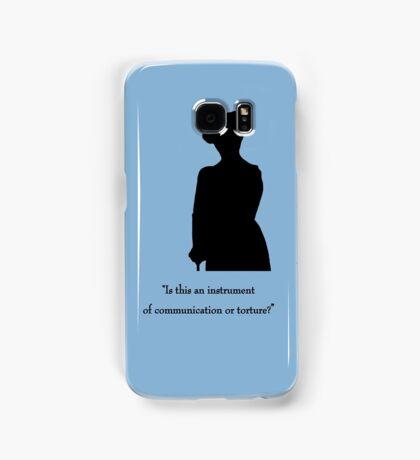 Communication or Torture? Samsung Galaxy Case/Skin