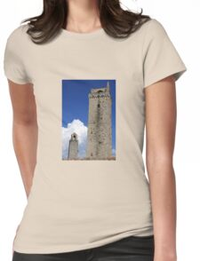 Towering Tuscany Womens Fitted T-Shirt