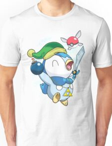 Pokemon Link Piplup Unisex T-Shirt
