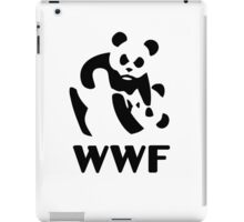wwf cartoon panda iPad Case/Skin