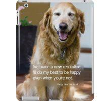 HAPPY DOG iPad Case/Skin
