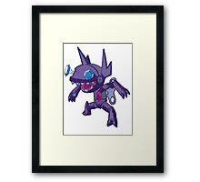 Robot Sableye Framed Print