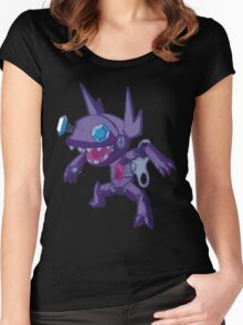 Robot Sableye Women's Fitted Scoop T-Shirt