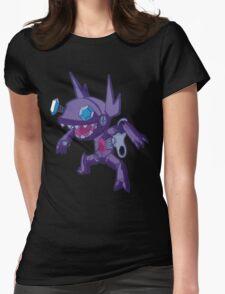 Robot Sableye Womens Fitted T-Shirt