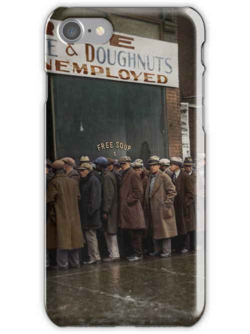 Al Capone S Soup Kitchen Chicago 1931 Iphone Cases Skins By Dana Keller Redbubble