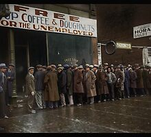 Al Capone's Soup Kitchen, Chicago, 1931 by Dana Keller