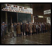 Al Capone's Soup Kitchen, Chicago, 1931 Photographic Print