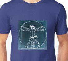 Vitruvian Man Mono Rev (WITH scarves) Unisex T-Shirt
