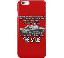 Stug WW2 tank destroyer T shirt iPhone Case/Skin