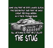 Stug WW2 tank destroyer T shirt Photographic Print