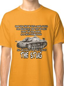 Stug WW2 tank destroyer T shirt Classic T-Shirt