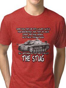 Stug WW2 tank destroyer T shirt Tri-blend T-Shirt