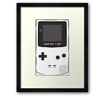 Game Boy Color Framed Print