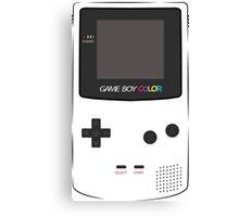Game Boy Color Canvas Print