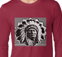 Chief Sitting Bull, NoDAPL Long Sleeve T-Shirt