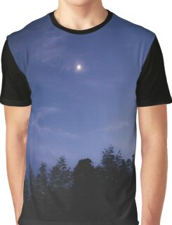 silent moon Graphic T-Shirt