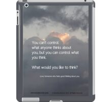 THINKING ABOUT YOU iPad Case/Skin