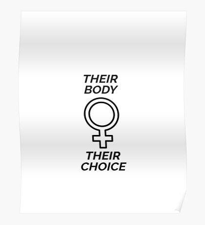 Their Body, Their Choice Poster