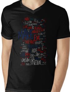 [band name removed] The Final Cut Mens V-Neck T-Shirt