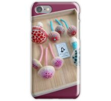 Felted Mushrooms iPhone Case/Skin