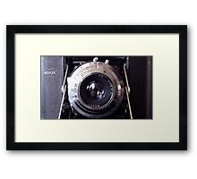 Camera cover Framed Print