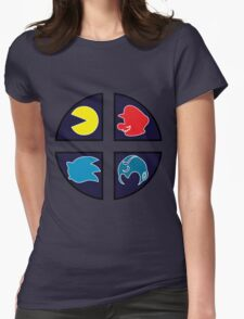 Video Game Icons Womens Fitted T-Shirt